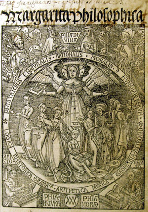 Gregorius Reisch, Margarita Philosophica (1517)