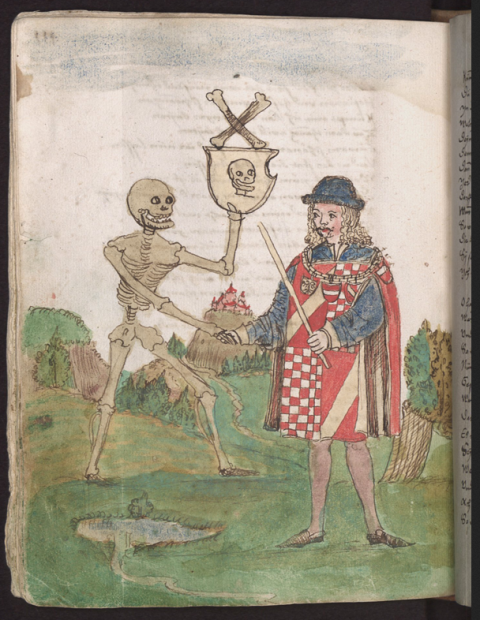 Prelude to a conference paper: or, Death and the Herald